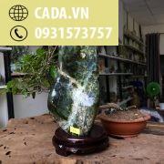 Đá cảnh xanh ngọc để bàn, kệ (MS : co86) KT 24x13 cm ,2.7kg