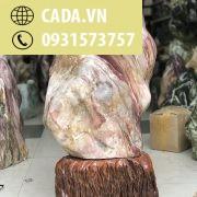 Cây đá đỏ tươi vân ngũ sắc KT : 93x40x40 cm khoảng 150kg (MS : 232)