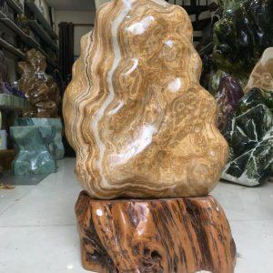 Cây đá cảnh canxit vàng