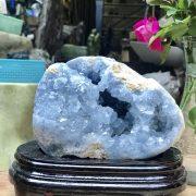 Hốc đá Celestine KT 17x15x8 cm , 2.773kg (CLT01)