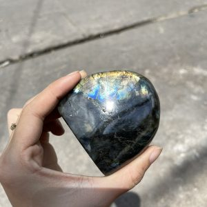 ĐÁ XÀ CỪ Labradorite– KT 6.8X7.3cm (XC44)