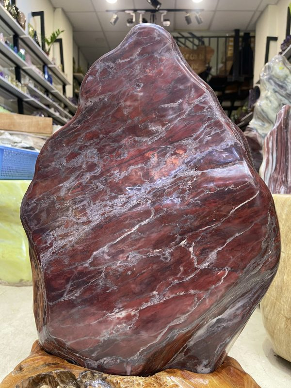 Đá cảnh tự nhiên ngũ sắc serpentine KT : 57x33 cm(MS:285)Đá cảnh tự nhiên ngũ sắc serpentine KT : 57x33 cm(MS:285)