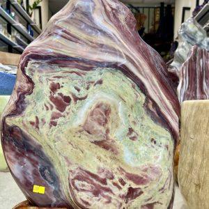 Đá cảnh tự nhiên ngũ sắc serpentine KT : 57x33 cm(MS:285)