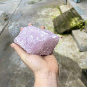 Đá thô Thạch Anh Hồng tự nhiên - đá rải nền nhà, thanh tẩy, sưu tầm